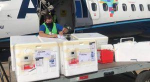 Ceará recebe novos lotes com 176.260 doses de vacinas contra a Covid-19 nesta quarta