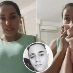 Após morte do filho, cantora Walkyria faz alerta: 'Vigiem. A internet está doente'