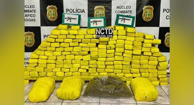 Ceará registra crescimento de 178% nas apreensões de drogas, segundo SSPDS