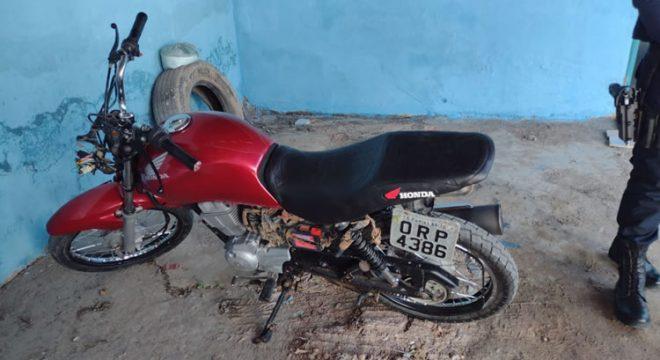 Duas motos levadas dos seus donos em Juazeiro e outra recuperada em Nova Olinda