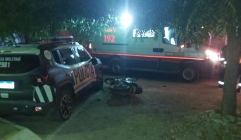 Homem embriagado bate na viatura da PM em Aurora e mortes no trânsito em Mauriti e Farias Brito